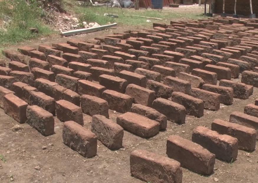 Ladrillo sargazo construcción Daniel Madariaga