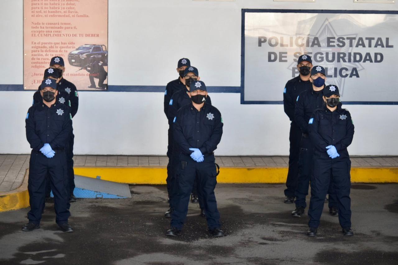 La PESP Sonora refuerza sus filas con 71 nuevos elementos.
