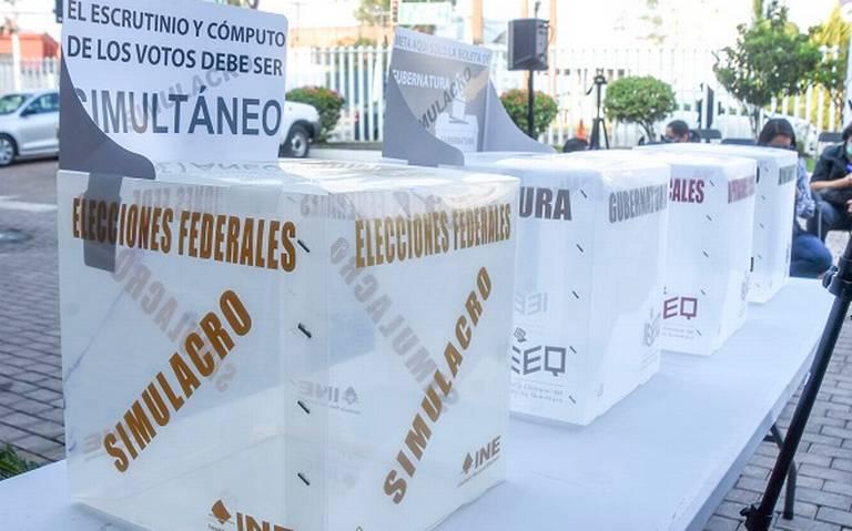 Garantizan la seguridad del material electoral