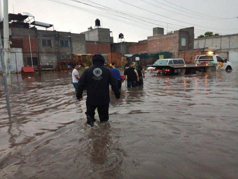 lluvias-Querétaro-comercio-la-voz