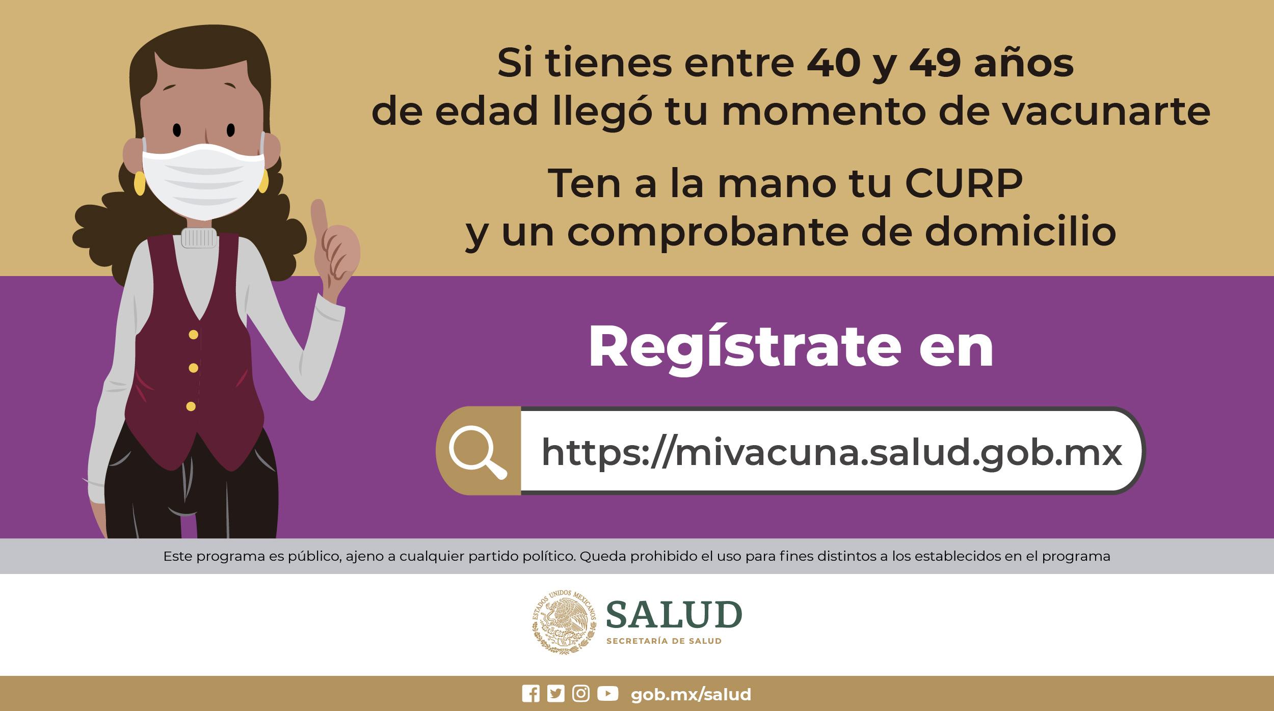 vacunación-40-49-Querétaro-la-voz