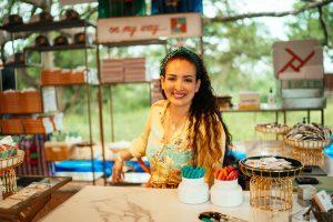 Retrato que ilustra la presentación del libro de Lorena Junco Margain