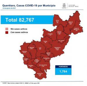 31-Agosto-COVID-mapa-Querétaro-la-voz