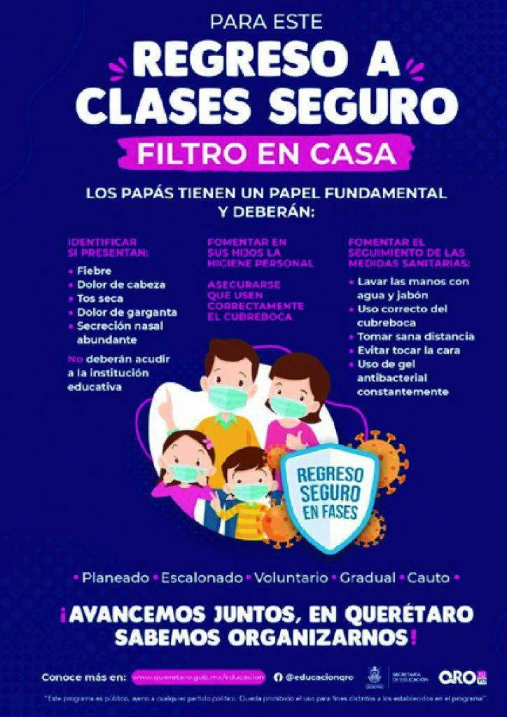 regreso-a-clases-seguro-Querétaro-la-voz
