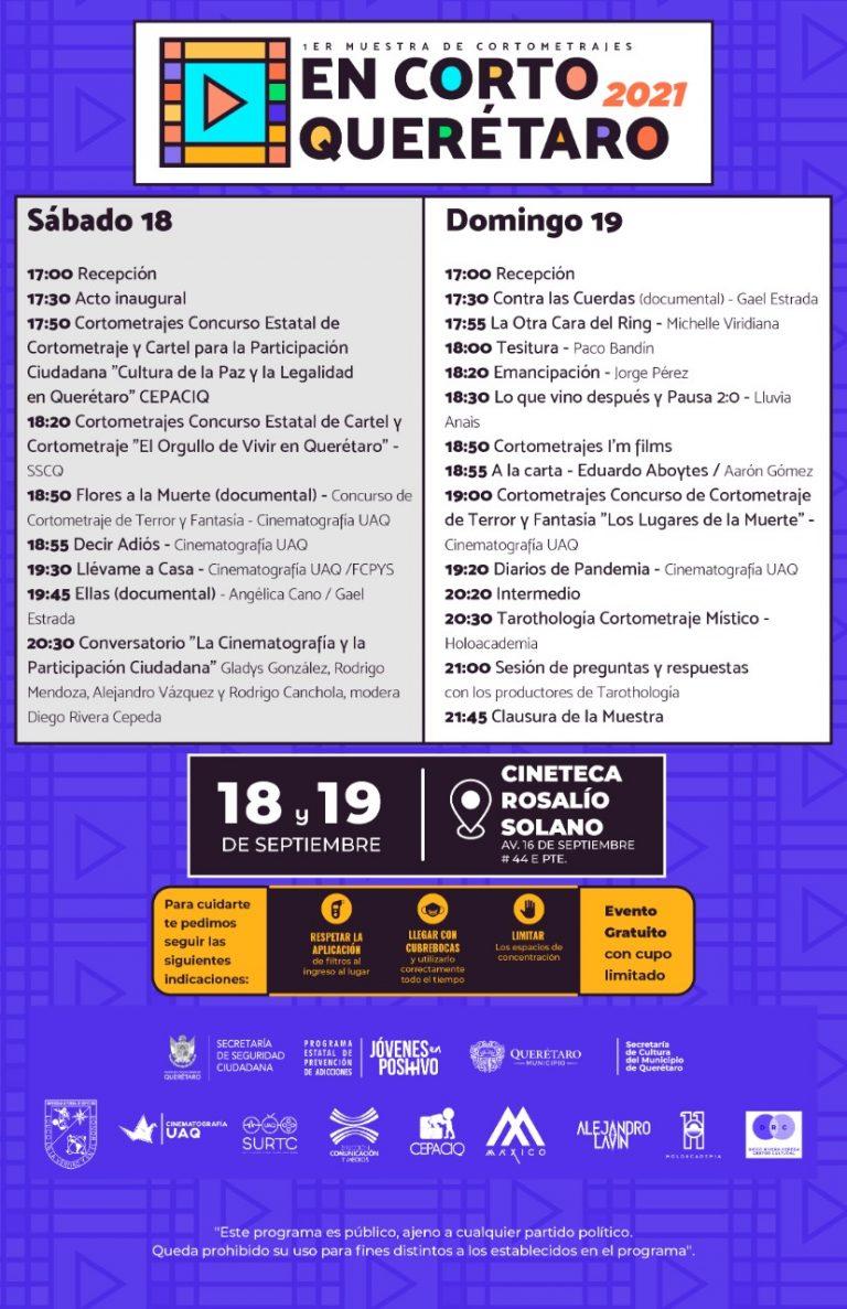 en-corto-2021-la-voz-de-Querétaro