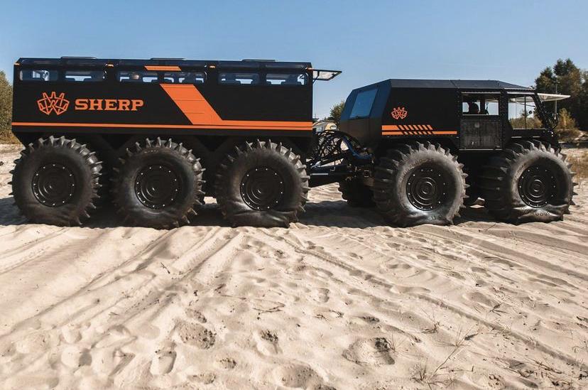 Sherp, el nuevo vehículo de Blindajes Epel